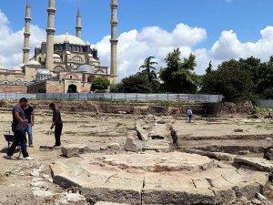 Mimar Sinanın Edirnede yaptığı su yolu bulundu
