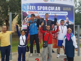 Mustafa Akıncı Türkiye Şampiyonu oldu