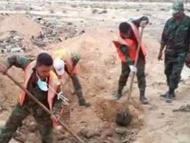 Palmirada bulunan toplu mezarda 150 ceset bulundu