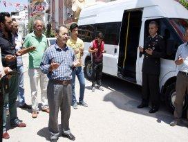 Şehit Üsteğmen Düzenlinin ailesi dualarla Konya'ya uğurlandı