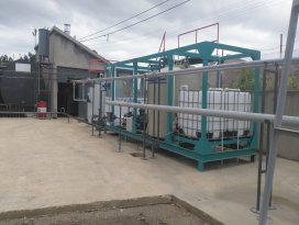 Seydişehirde asfalt üretim tesisi kuruldu