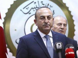 Çavuşoğlu: Libya Ulusal Mutabakat Hükümetine desteğimiz devam ediyor