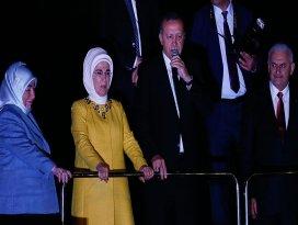 Erdoğan: Bölücü terör örgütünün bu son çırpınışlarıdır