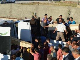 Silopideki terör saldırısında hayatını kaybedenler toprağa verildi