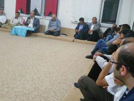 AK Parti Meram mahalle toplantılarına devam ediyor