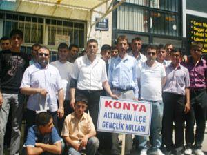 Altınekinden İzmire gençlik çıkarması