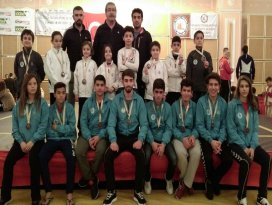 Selçuklu Belediyesi Wushu takımında hedef Balkan Şampiyonası