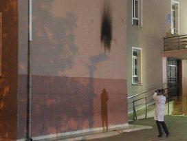 Konyada okula molotofkokteyliyle saldırı