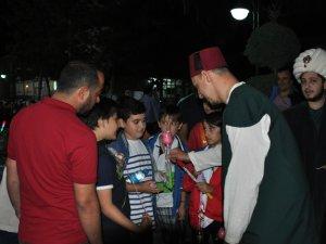 NEÜde gök kubbe altında ramazan geceleri