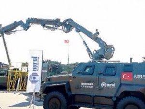 PKKnın EYPlerini imha edecek robot geliştirildi
