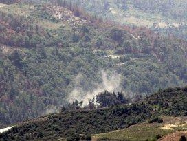 Suriyede rejim güçlerinin Türkmendağına saldırıları sürüyor