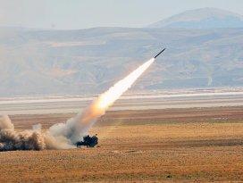 DAEŞ hedefleri Fırtına obüsleri ve roketatar bataryalarıyla vuruldu