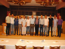 Sarayönü Belediyespor olağan üstü genel kurulu yapıldı