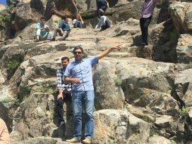 Beyşehirde turizm bölümü öğrencileri tarihi mekanları gezdi