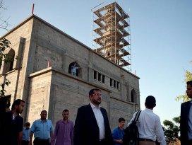 TDV heyetinden Gazzedeki cami inşaatlarında inceleme