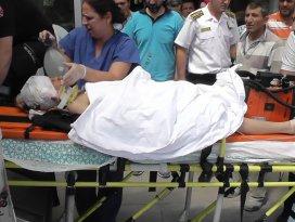 İnşaatın 6. katından düşen çocuk ağır yaralandı