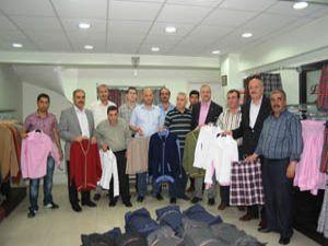 Konyalı tekstilcilerin kıyafet tepkisi
