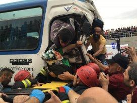 Konyada zincirleme trafik kazası: 36 yaralı