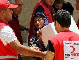 Türk Kızılayı ramazanda da ihtiyaç sahiplerinin yanında