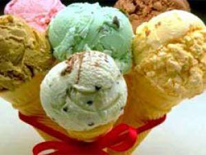 Dondurma yerken zehirlenmeyin