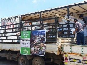 Halepe ramazan yardımı