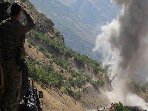 Saldırı düzenleyen PKKlı parçalara ayrıldı!