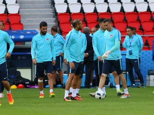 A Milli Takım Hırvatistan maçına hazır