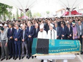 Devletin zirvesini buluşturan cenaze töreni