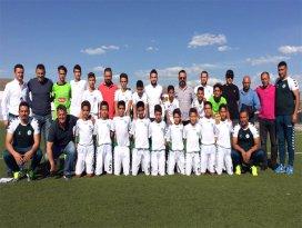 U13 Konyaspor, şampiyon oldu