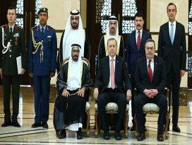Erdoğan, BAEnin Ankara Büyükelçisi Mararı kabul etti