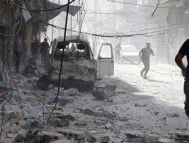 Suriyede varil ve vakum bombalı saldırı: 28 ölü