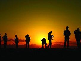Beyşehirin ünlü günbatımını dünya izleyecek