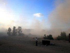 Gazzede duyulan patlama sesi denemeden kaynaklı