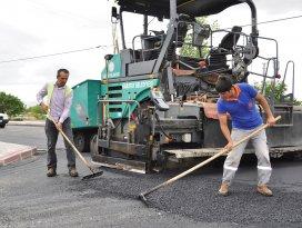 Karatayda asfalt çalışmaları devam ediyor
