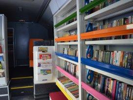 Konyaya gezici kütüphane