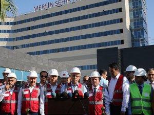 Mersin Şehir Hastanesinde sona gelindi
