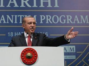 Erdoğan: Gezi Parkına o tarihi eseri inşa edeceğiz