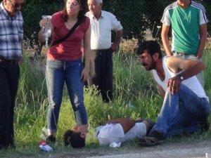 Adanada midibüs devrildi: 32 yaralı