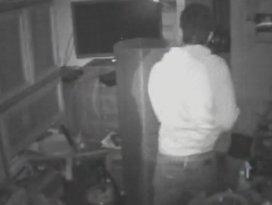 Hırsızın güvenlik kamerası ile imtihanı