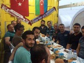 Nusaybindeki özel harekatçılara Trabzondan destek
