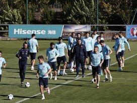 A Milli Futbol Takımı Çek Cumhuriyeti maçına hazırlanıyor