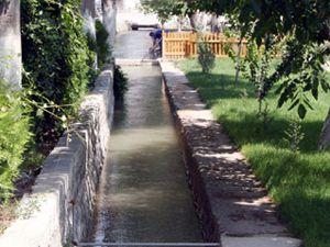 Merama sulama suyu veriliyor