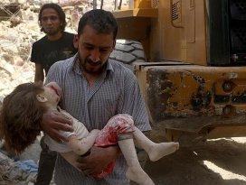 Halepte yerleşim yerine saldırı: 8 ölü