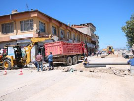 Beyşehir'de çarşı esnafı rahata kavuşacak