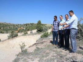 Beyşehir'de 2. etap TOKİ konutlarının inşaatı başladı