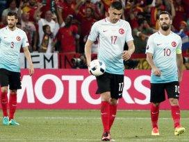 Türkiye, EURO 2016ya veda etti
