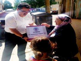 Akşehirde Akimmed'den gıda paketi yardımı