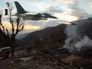 Kuzey Irakta 50ye yakın hedef vuruldu