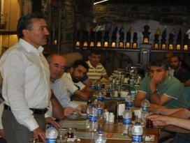 Başkan Tutal'dan basın mensuplarına iftar yemeği