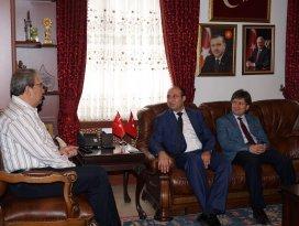 Nevşehir Belediye Başkanı Hasan Ünvere ziyaret